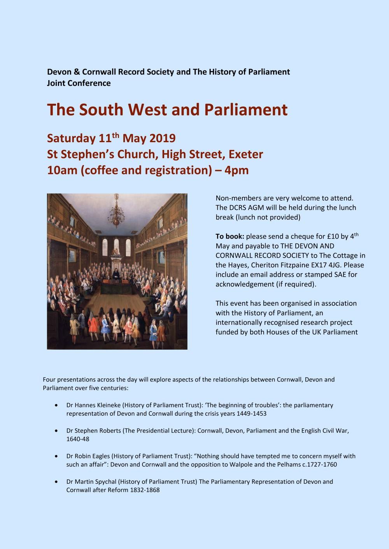 657b8c4afe1d14 Events news (updated 12 Apr 2019) – The Devonshire Association