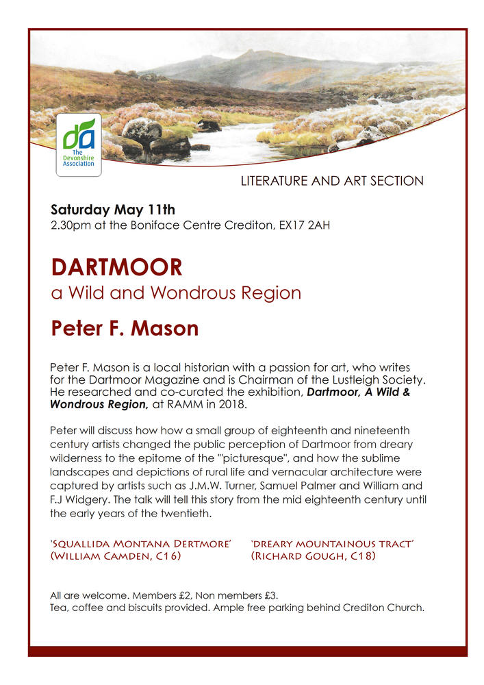 Dartmoor – a wild and wondrous region (Lit & Art Section